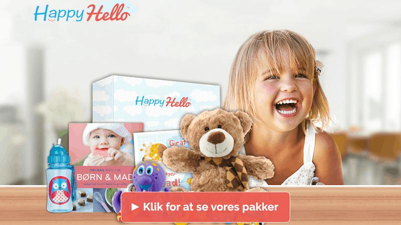 HappyHello babypakke