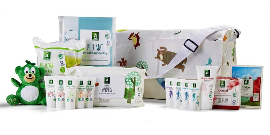 fc92699b4 SuperBrugsen babypakke → Sådan får du en gratis änglamark babypakke!