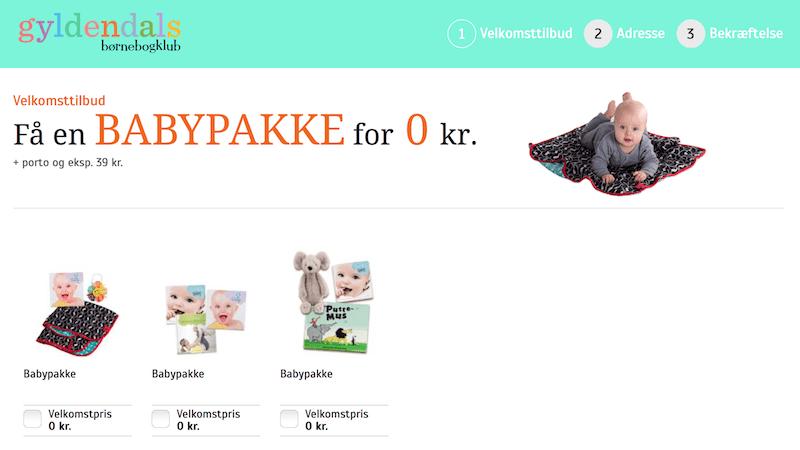 Gyldendals babypakke