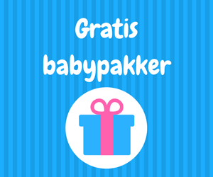 Gratis babypakker til baby