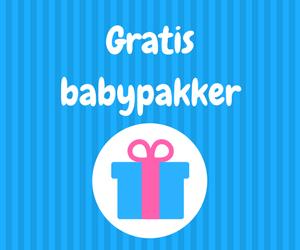 Gratis babypakker til babyer og gravide