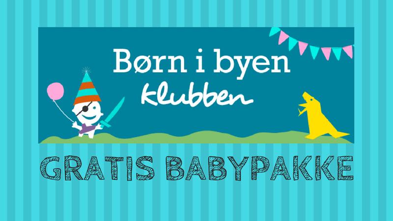 Børn i Byen gratis babypakke