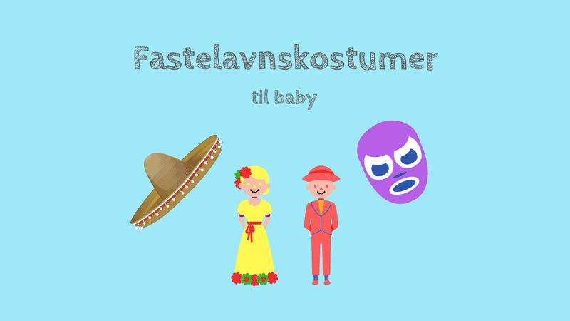 Fastelavnskostumer til baby